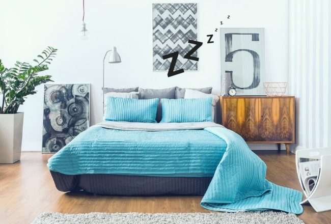 Your surrounding could be affecting your sleep quality. Learn how to improve your sleep while keeping your style!