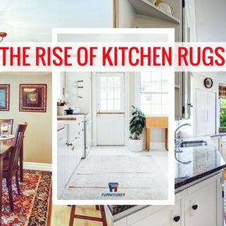 Rugs for the kitchen from Furniture7 are becoming trendy in 2018.