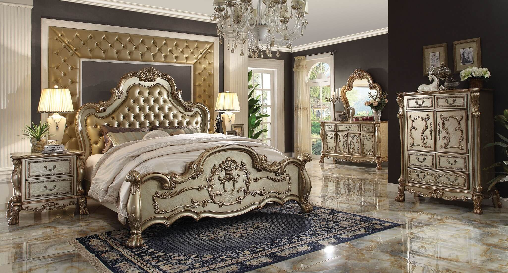 Enjoy this comfortable, elegant bed from F7 today. Or for Mother's Day!