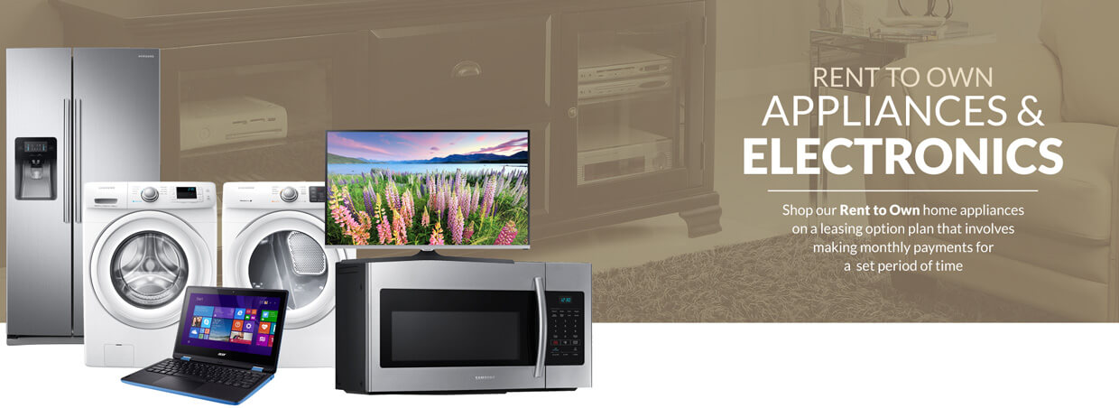 Rent to Own home appliances onlineApply for Furniture financing