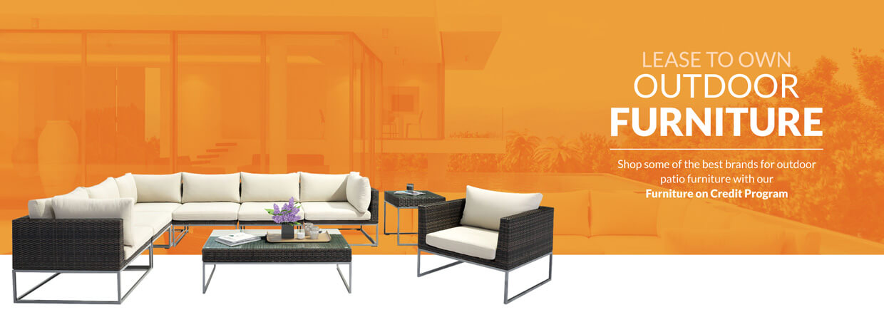Rent to Own Outdoor Furniture Lease to own leasing