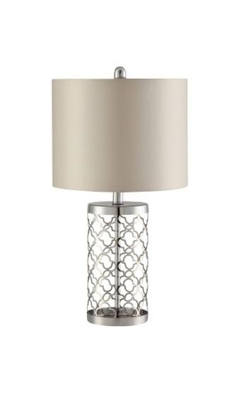 Table Lamp in Champagne