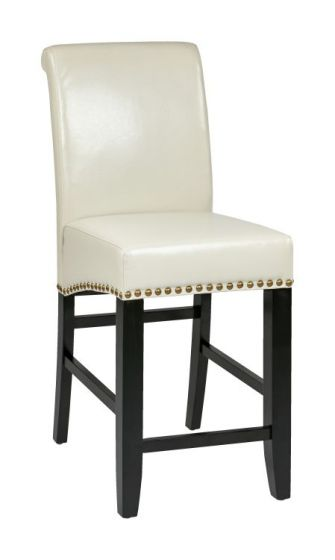 24'' Parsons Barstool in Cream