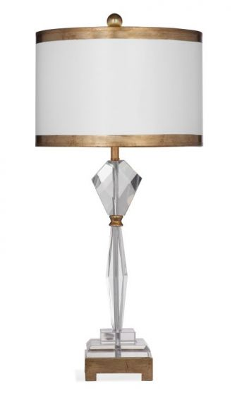 Adel Table Lamp in Crystal