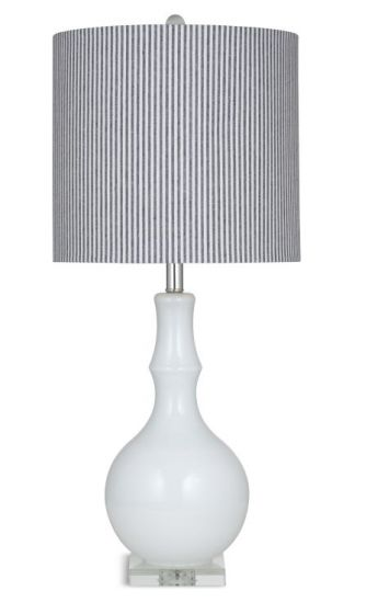 Dixon Table Lamp in Off White