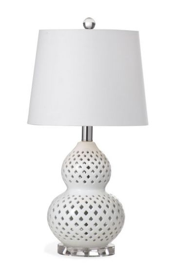 Oberlin Table Lamp in White