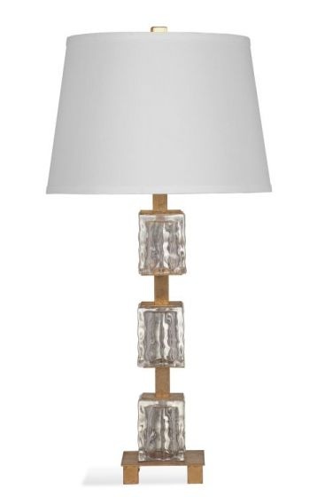 Carlo Table Lamp in Gold Leaf