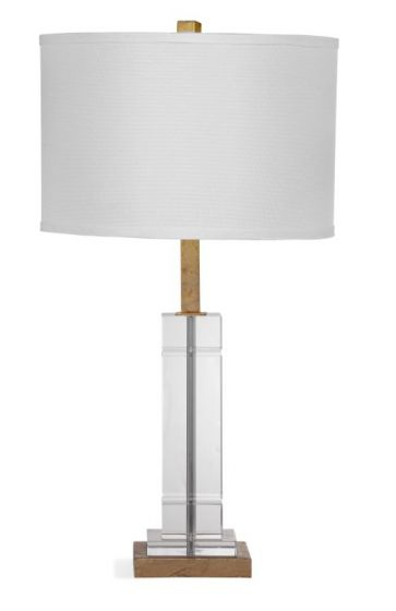 Mitchum Table Lamp in Crystal