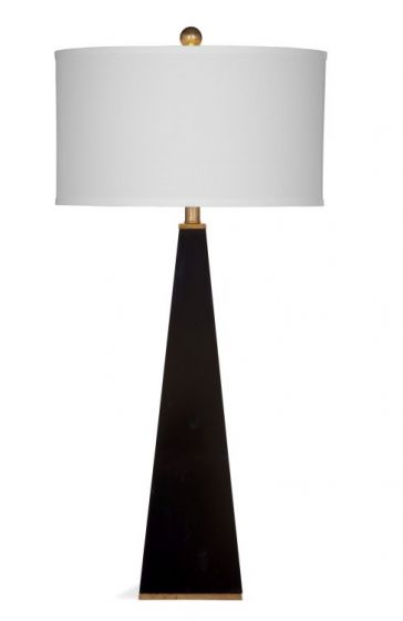 Elle Table Lamp in Glossy Black