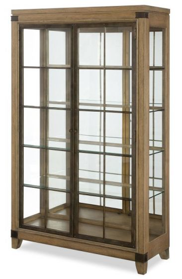 Metalworks Bunching Display Cabinet In Factory Chic