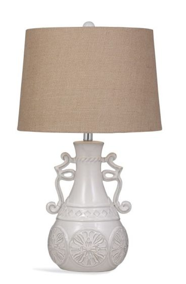 Weston Table Lamp in Off White