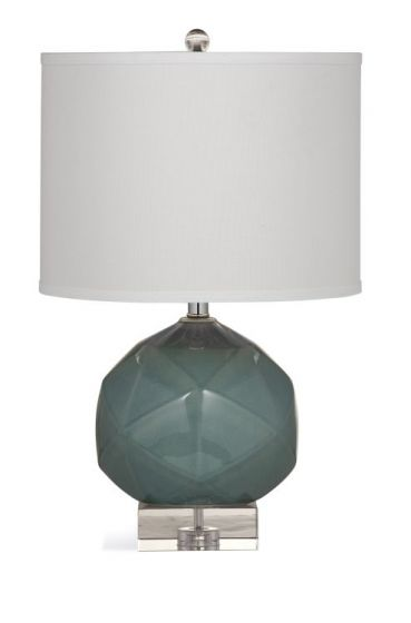 Leera Table Lamp in Gray Green