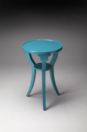 Dalton Teal Accent Table