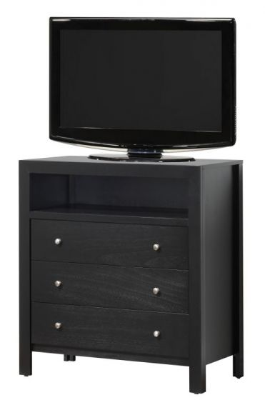 Media Chest in Black