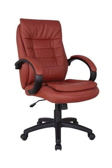 Jaye Office Chair with Pneumatic Lift in Red
