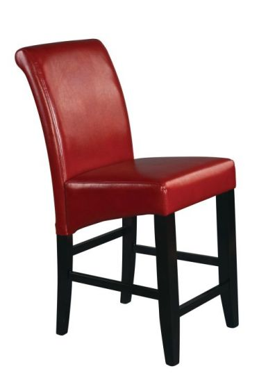 24'' Parsons Barstool in Red