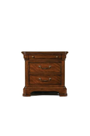 Evolution Night Stand In Rich Auburn