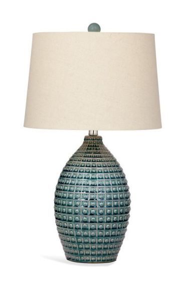 Hurst Table Lamp in Aqua