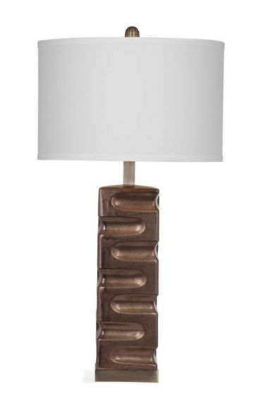 Sanger Table Lamp in Copper Finish