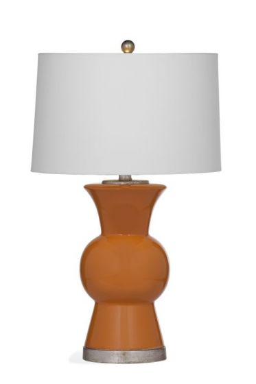 Macon Table Lamp in Persimmon