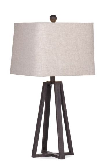 Denison Table Lamp in Rustic Bronze