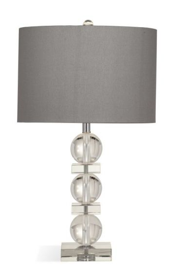 Olivia Table Lamp in Crystal