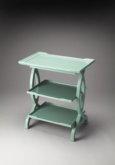 Kimiko Mint Crème Side Table