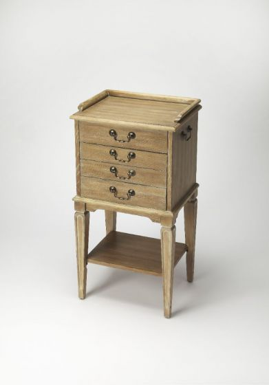 Hardwick Driftwood Silver Chest