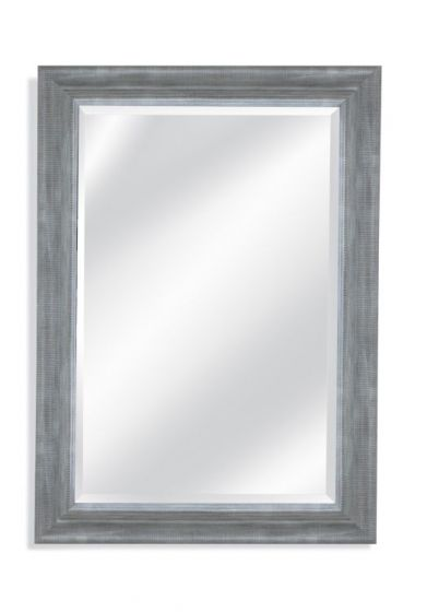 Lail Wall Mirror in Distressed Gray