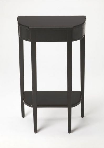 Wendell Black Licorice Console Table