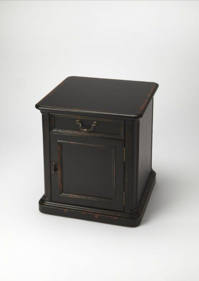 Thayer Midnight Rose Accent Table