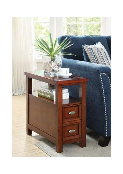 Perrie Side Table in Cherry