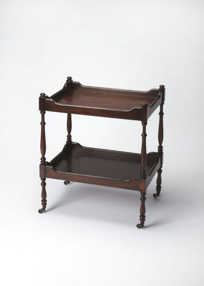 Plantation Cherry Serving Cart