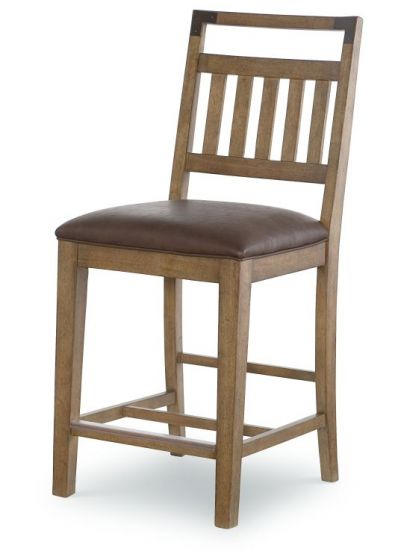 Metalworks Pub Chair In Factory Chic