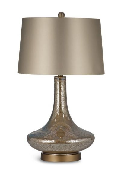 Saratoga Table Lamp  in Gold Leaf