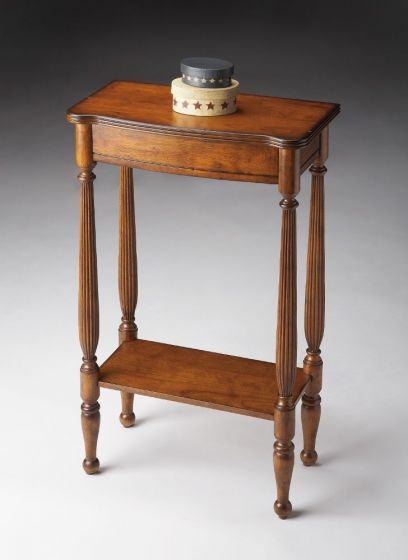Whitney Antique Cherry Console Table