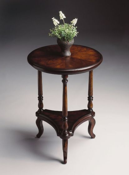 Petry Plantation Cherry Accent Table
