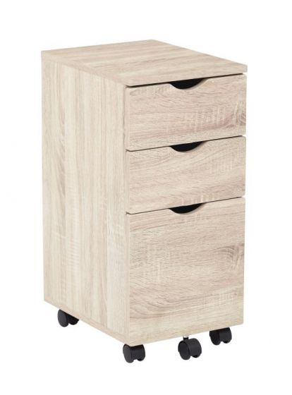 Lois Storage File Cabinet in Light Driftwood