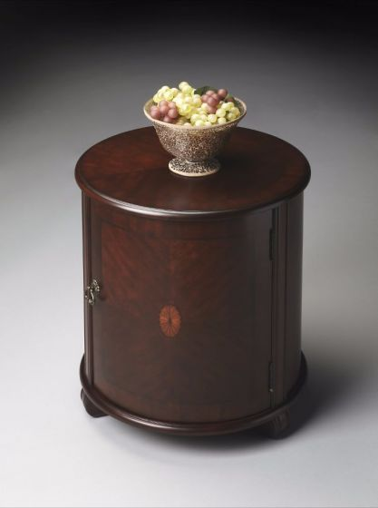Lawrie Plantation Cherry Drum Table