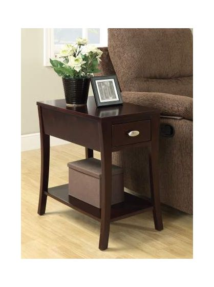 Mansa Side Table in Espresso