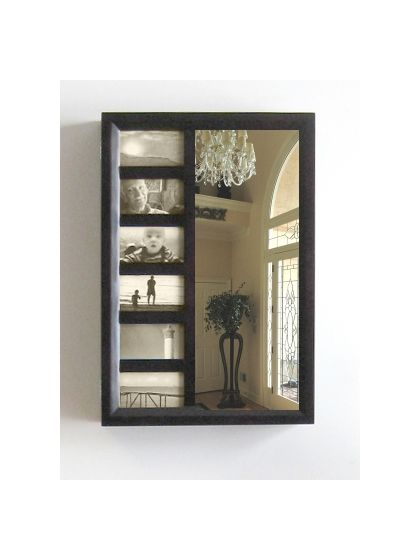 Bellissimo Venice Wall Mount Jewelry Armoire in Mahogany
