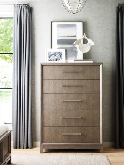 Highline Drawer Chest In Greige