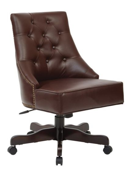 Rebecca Office Chair in Cocoa