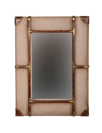 Vintage Framed Wall Mirror - Large