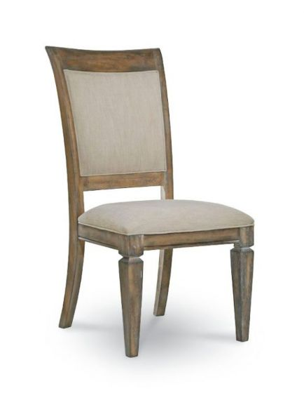 Brownstone Village Uph. Back Side Chair In Aged Patina