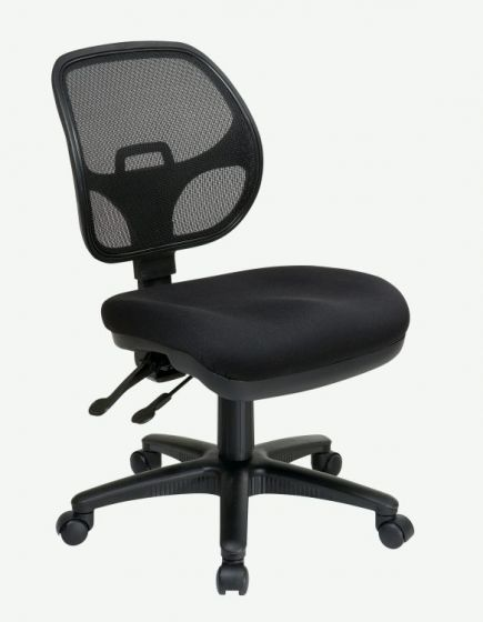 Ergonomic Task Chair with ProGrid Back in Coal