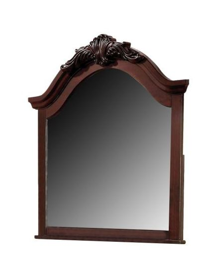 Gwyneth Mirror in Cherry