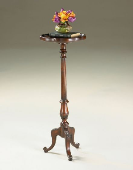Chatsworth Plantation Cherry Pedestal Plant Stand