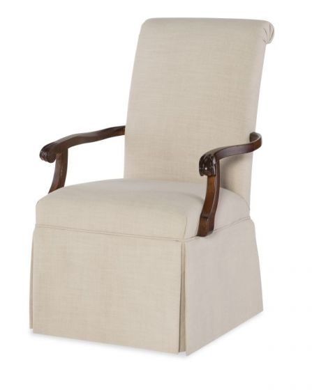 Upstate Host Arm Chair In Conciare