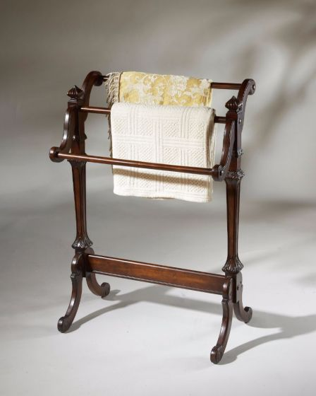 Newhouse Plantation Cherry Blanket Stand